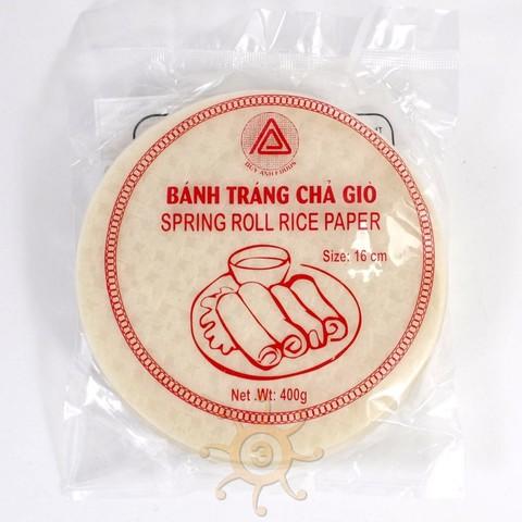 Бумага рисовая для спринг-роллов 16см DUY ANH, 400г