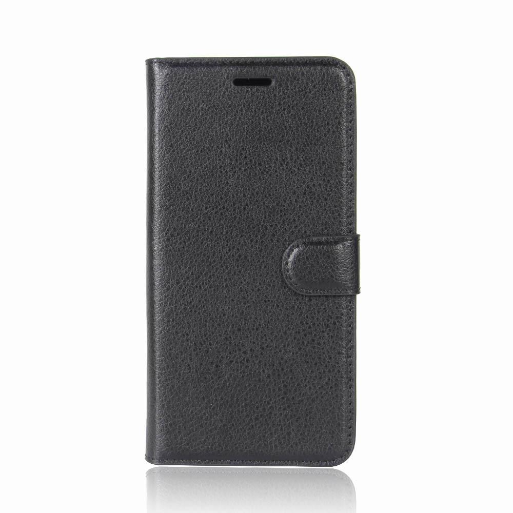 Чехол книжка черного цвета для OnePlus 8, с отсеком для карт и подставкой от Caseport