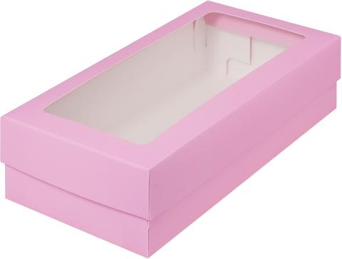 Коробка 21*11*5,5 см(розовая)