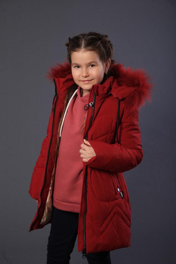 Пальто для девочки Minika HM-65