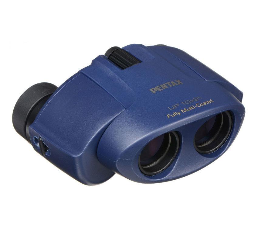 Бинокль Pentax UP 10x21 синий - фото 1