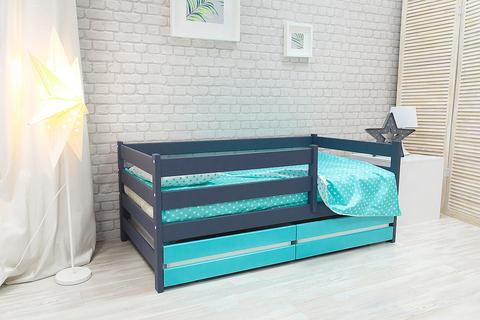 Кровать-манеж Софа из массива березы