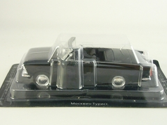 Moskvich-408 Tourist black 1:43 DeAgostini Auto Legends USSR #149