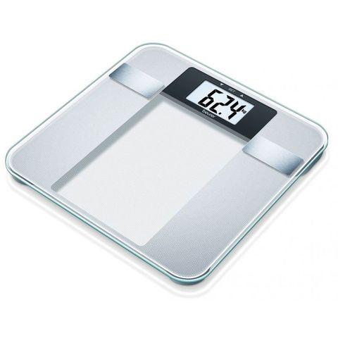 Весы напольные электронные Beurer (B-BG13) макс.150кг серебристый