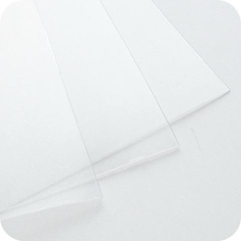 Пластик ПЭТ (для шейкера), 0,5 мм 30*30 см