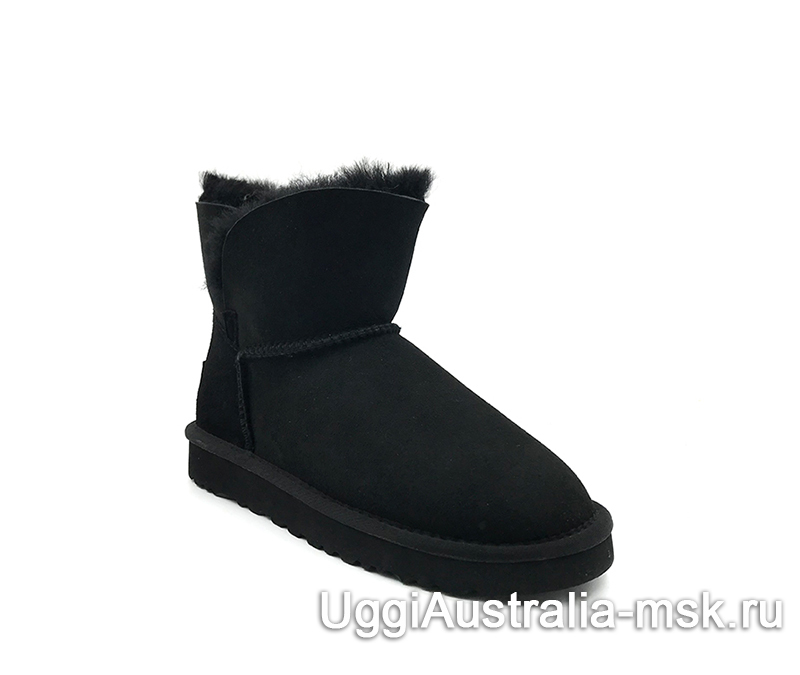 UGG Women's Classic Mini Cuff Boot Black