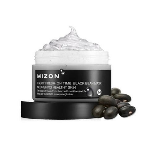 Тонизирующая антивозрастная маска Mizon Enjoy Fresh-On Time Black Bean