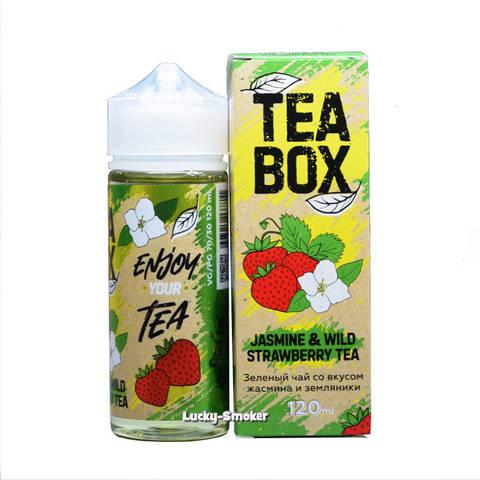 Жидкость Tea Box 120 мл Jasmine & Wild Strawberry Tea