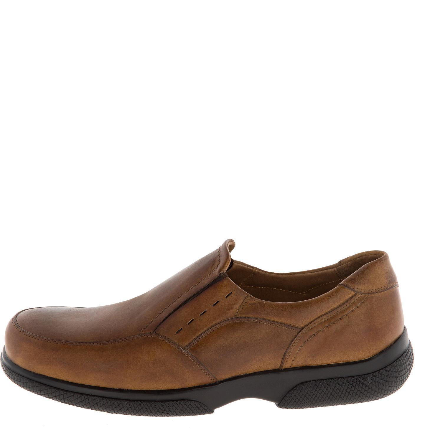 582367 полуботинки мужские коричневые больших размеров марки Делфино