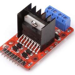 Драйвер L298N 2X Motor Shield мощный для двигателей постоянного тока