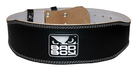 Пояс атлетический Bad Boy Leather Weight Lifting Belt