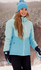 Утеплённая прогулочная лыжная куртка Nordski Montana Sky-Aquamarine женская