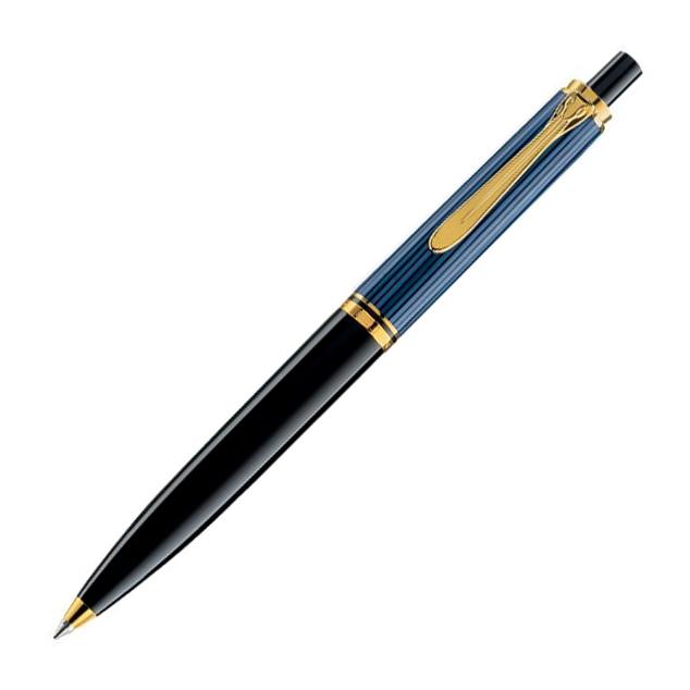 Pelikan Souveraen - Black Blue GT, шариковая ручка, M