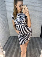 летнее платье-туника nadya