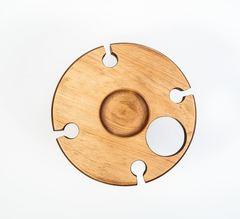 Столик для вина из сибирского кедра, фото 3