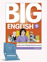 Big English 5 Student eText & MyEnglishLab Online Access :(720)