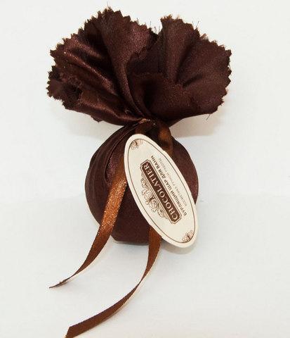Бурлящий шар Шоколатье в шелке