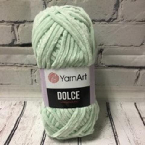 Пряжа Dolce YarnArt - (753 - Мятный)