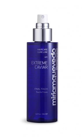 Фиксирующий спрей для волос с экстрактом черной икры / Miriamqueveda Extreme Caviar Final Touch