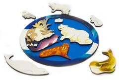Зоопазл Северный полюс