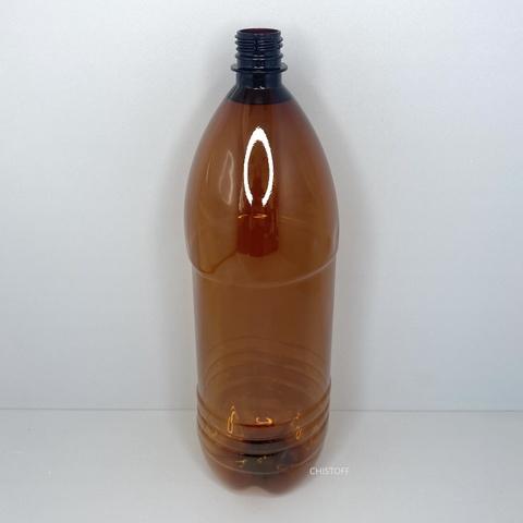 Бутылка 2 л с узким горлом ø 28 мм коричневая