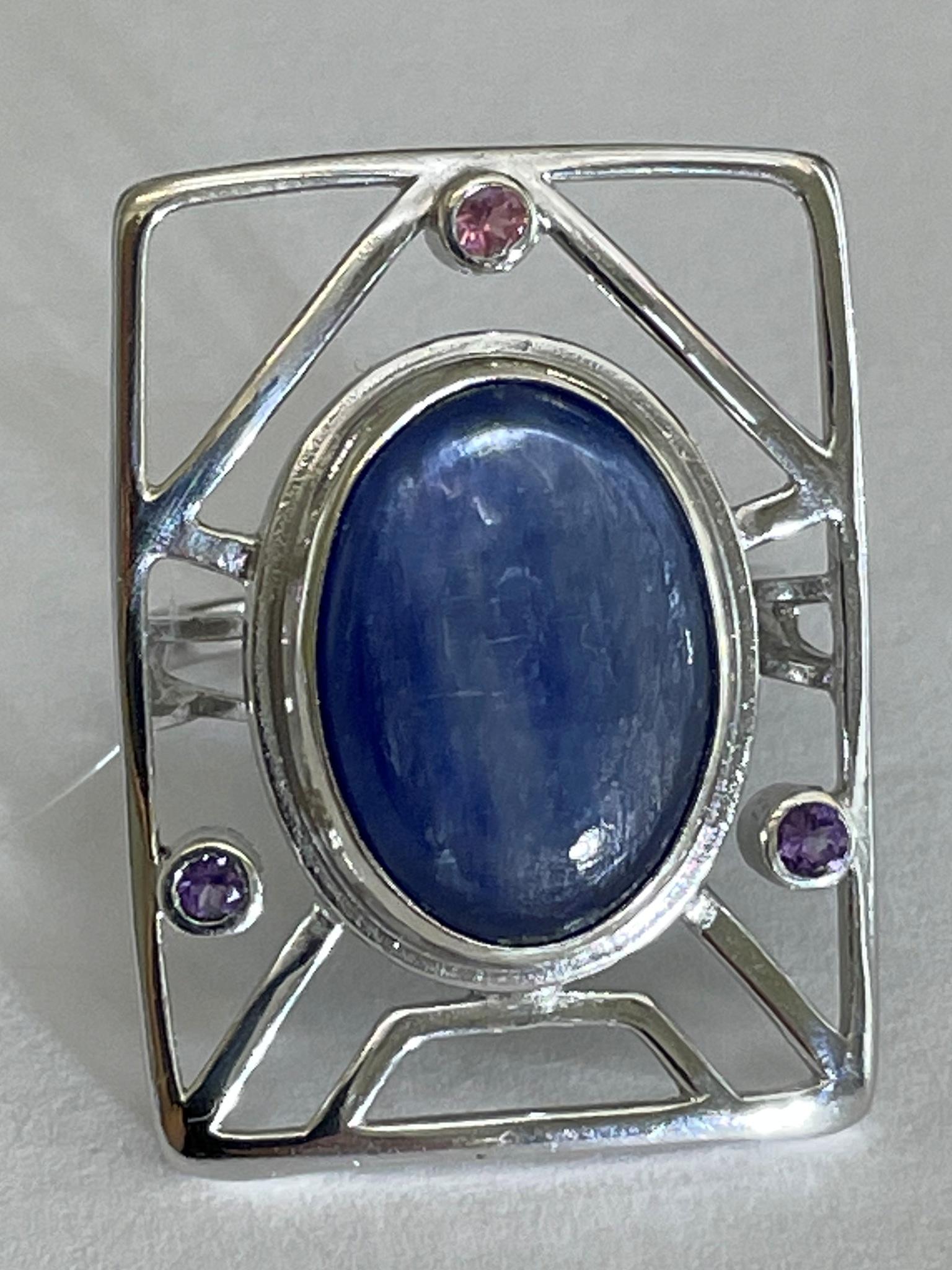 Домик (кольцо из серебра)