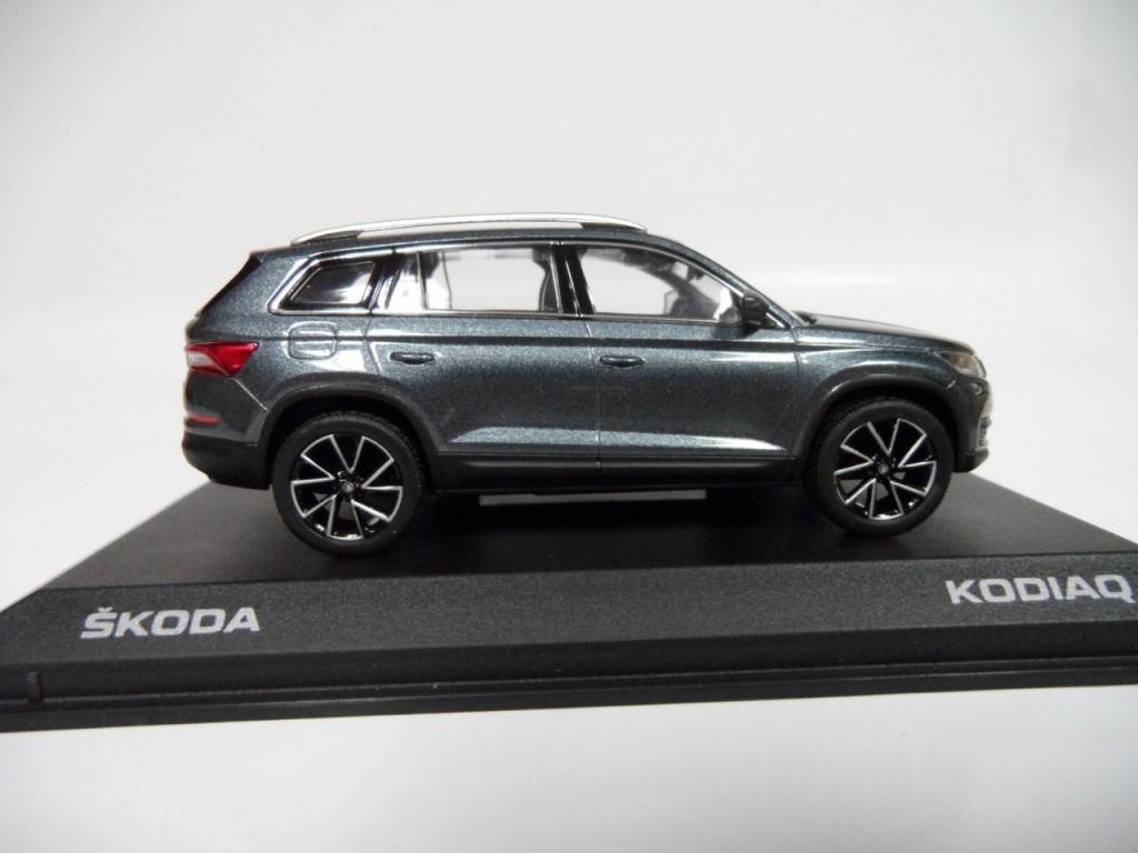 Коллекционная модель Skoda Kodiaq Metal Grey