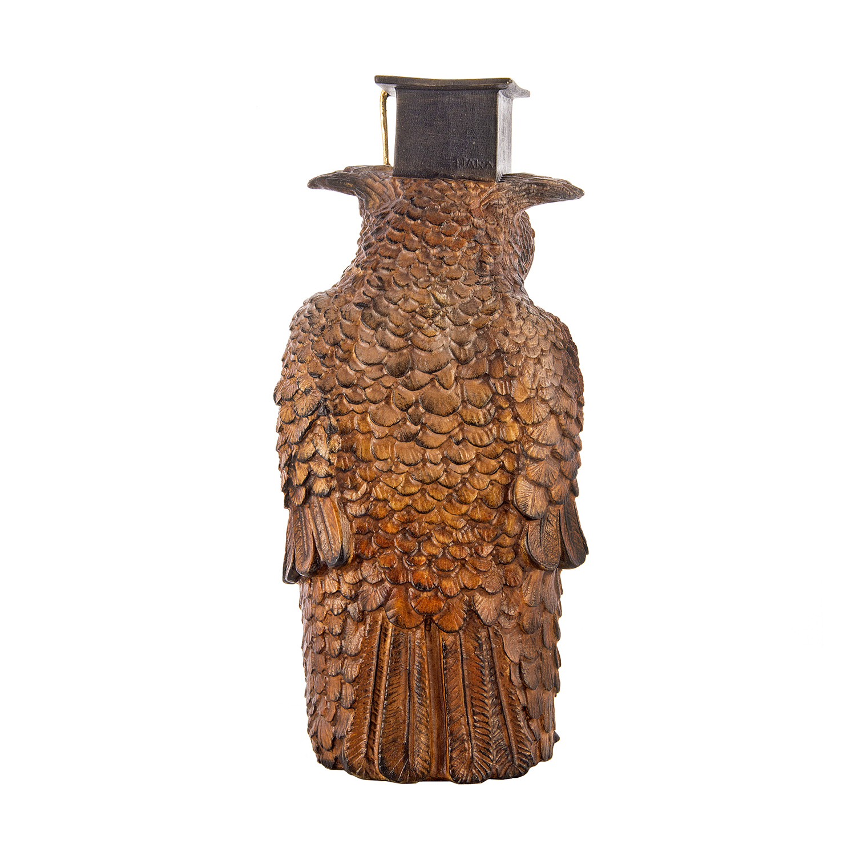 Статуэтка из дерева «Ученая сова»