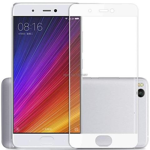 Защитное стекло для Xiaomi Mi5S (белое)