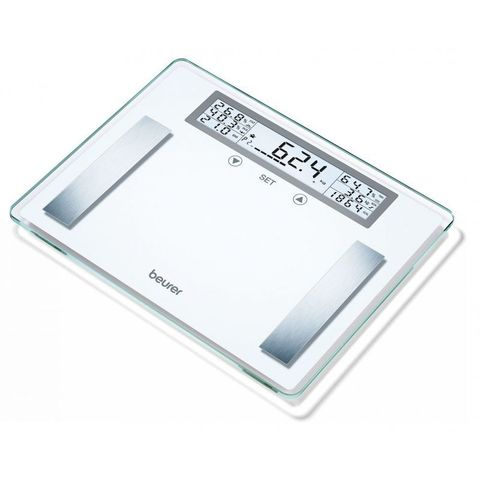 Весы напольные электронные Beurer (B-BG51) XXL макс.200кг белый