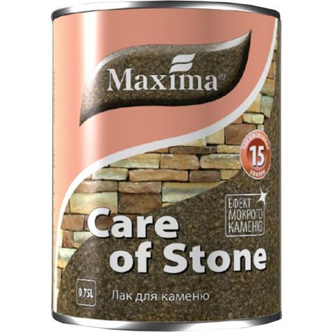 Лак для камня  глянцевый Maxima - 0.75 л