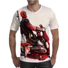 Футболка 3D принт, Дэдпул, Марвел (3Д Deadpool, Marvel) 18