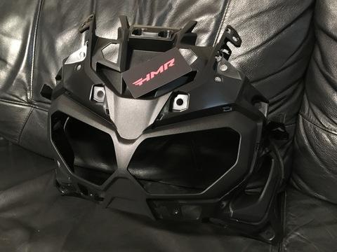 Пластик передний CRF1000 черный 64211-MKK-D00