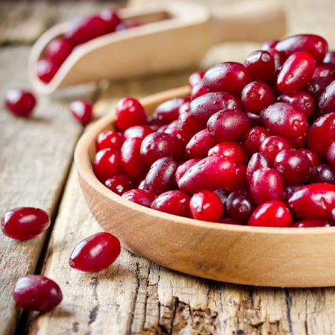 Фотография Кизил (ягоды свежие) / 500 гр купить в магазине Афлора
