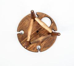 Столик для вина из сибирского кедра, фото 4