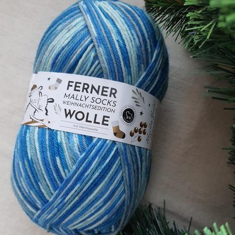 Ferner Wolle Mally Socks Weihnachts 24 купить