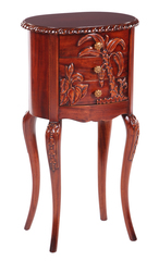 AG-51 Столик под телефон (массив красного дерева) NBA Pecan M (итал. 40*30(75) см MK-2401-NM