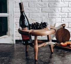 Столик для вина из сибирского кедра, фото 1
