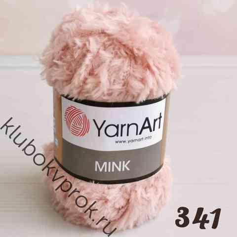 YARNART MINK 341, Персиковый