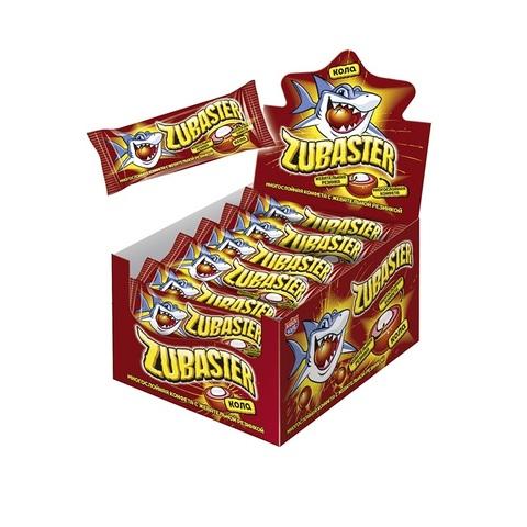 Многослойная конфета с жевательной резинкой