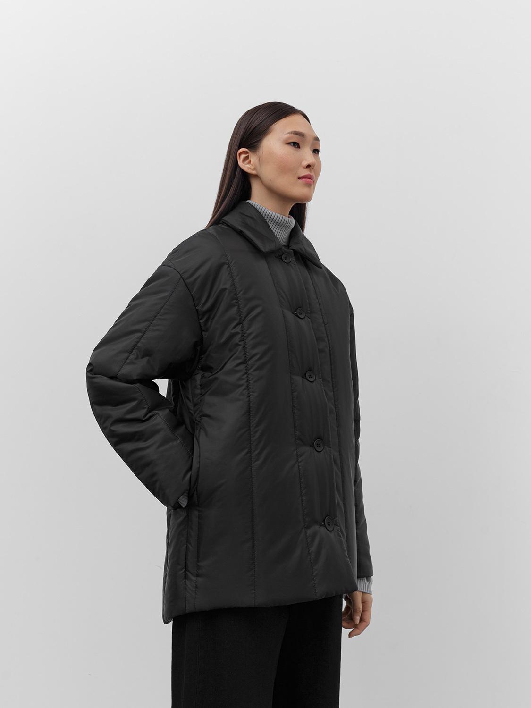 Куртка Таллин с вертикальной стёжкой