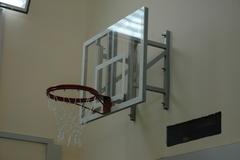 Щит баскетбольный тренировочный, поликарбонат 10мм. 1200х900 мм.
