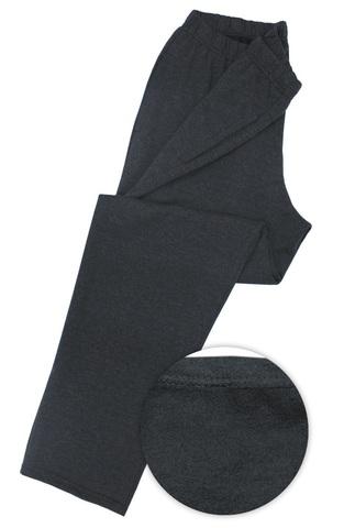 Брюки трикотажные мужские на байке, боковые карманы (футер арт.013)