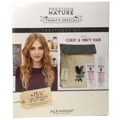 Подарочный набор для волнистых волос Precious Nature Alfaparf