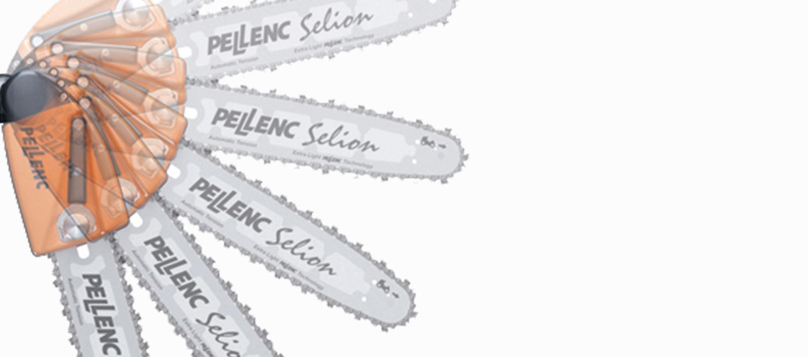 Электрическая пила PELLENC SELION на телескопической ручке