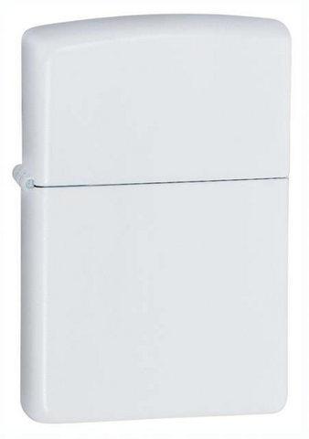 Зажигалка Zippo Classic с покрытием White Matte, латунь/сталь, белая, матовая, 36x12x56 мм123