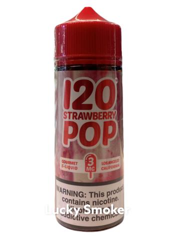 Жидкость Mad Hatter 120 мл 120 Strawberry Pop
