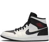 Кроссовки Nike Air Jordan 1 Retro White\Black\Red