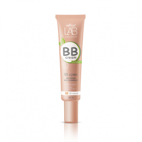 Белита LAB colour BB крем без масел и силиконов тон 02 natural 30мл