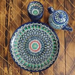 Набор чайный Мехроб, 8 предметов